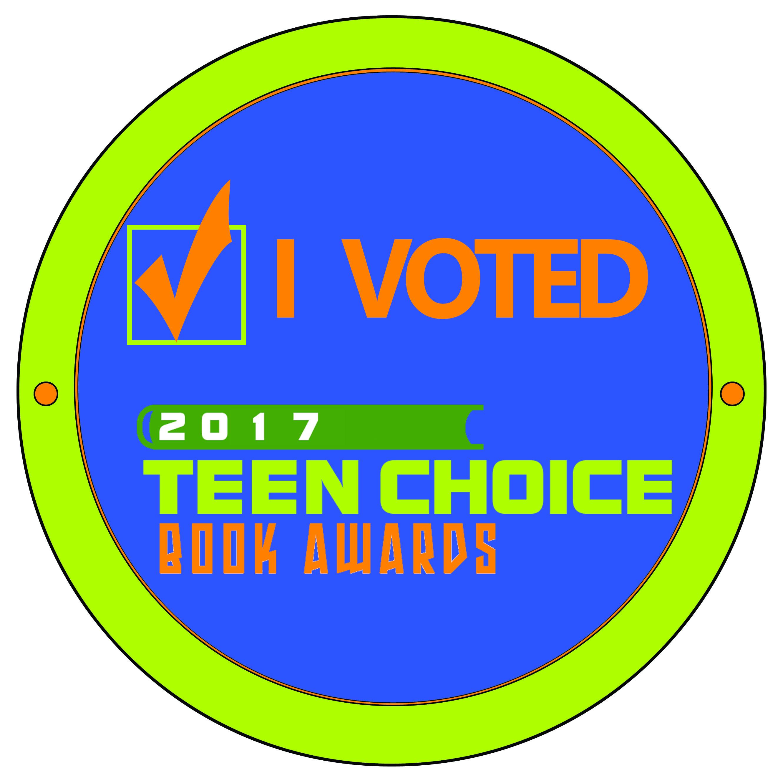 I voted badge teen