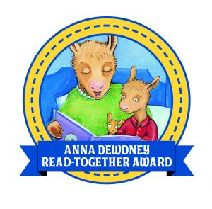 Second Annual Anna Dewdney Read Together Award Winner and Honor Books Announced