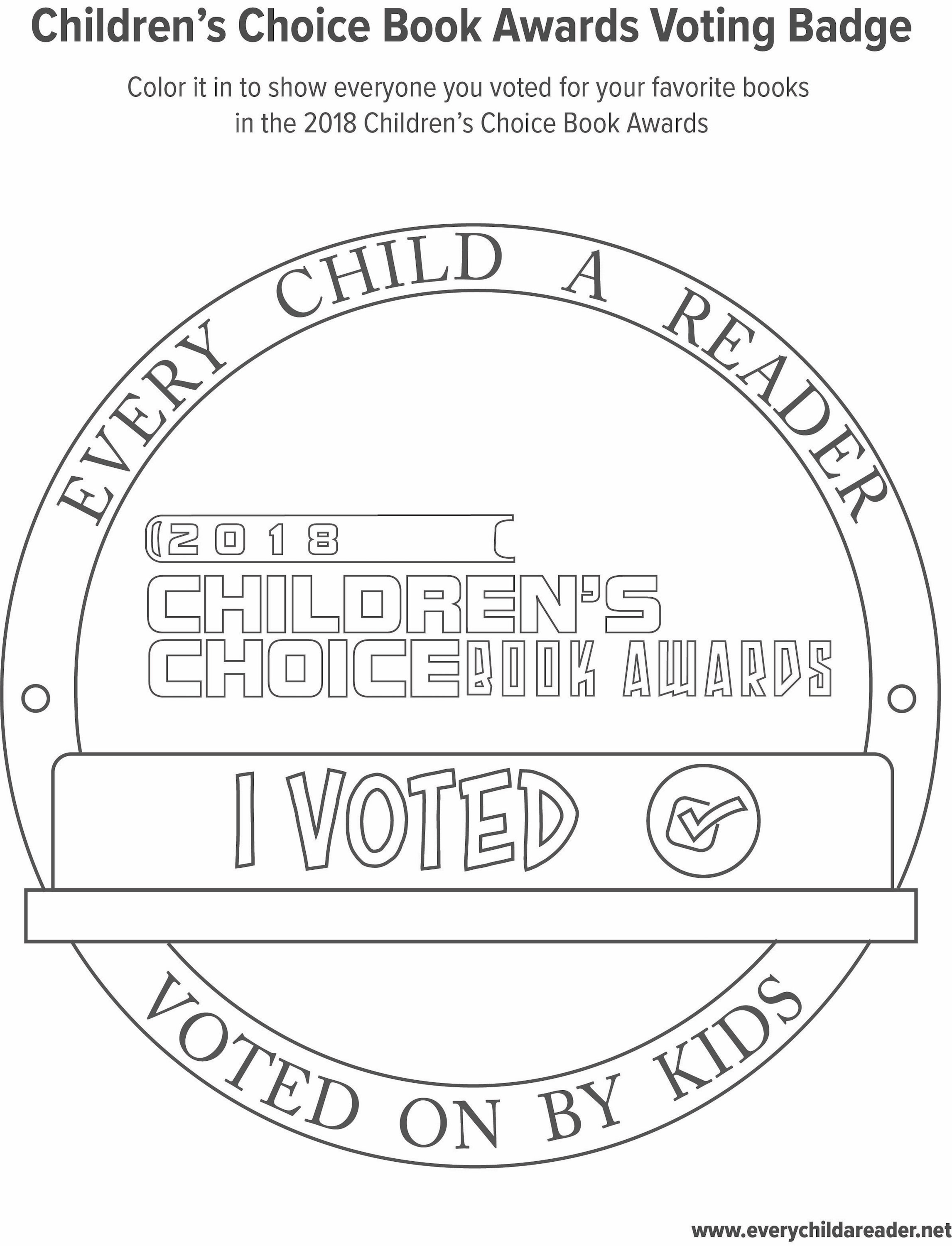 Fun stuff every child a reader i voted ccuart Choice Image