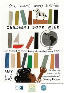 2017 Children's Book Week Poster Revealed; Event Location Online Sign-up Now Open