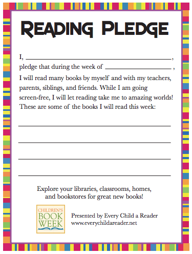 Reading Pledge