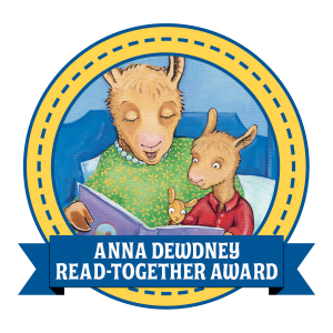 Third Annual Anna Dewdney Read Together Award Winner and Honor Books Announced