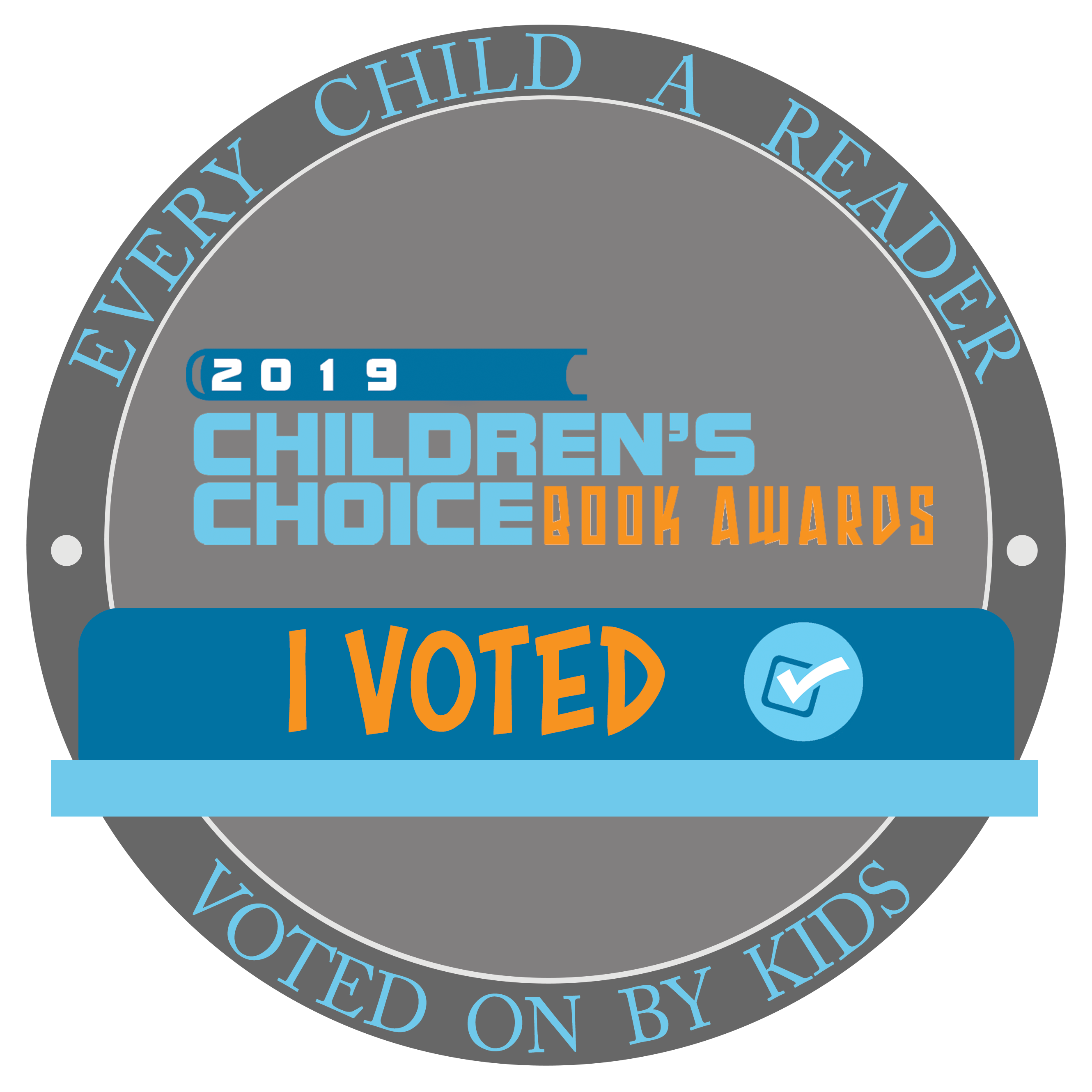 I voted badge