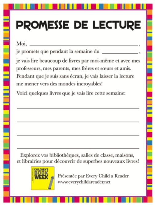 Promesa de Lectura
