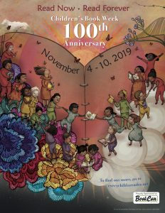 100th Anniversary Children's Book Week Poster Revealed