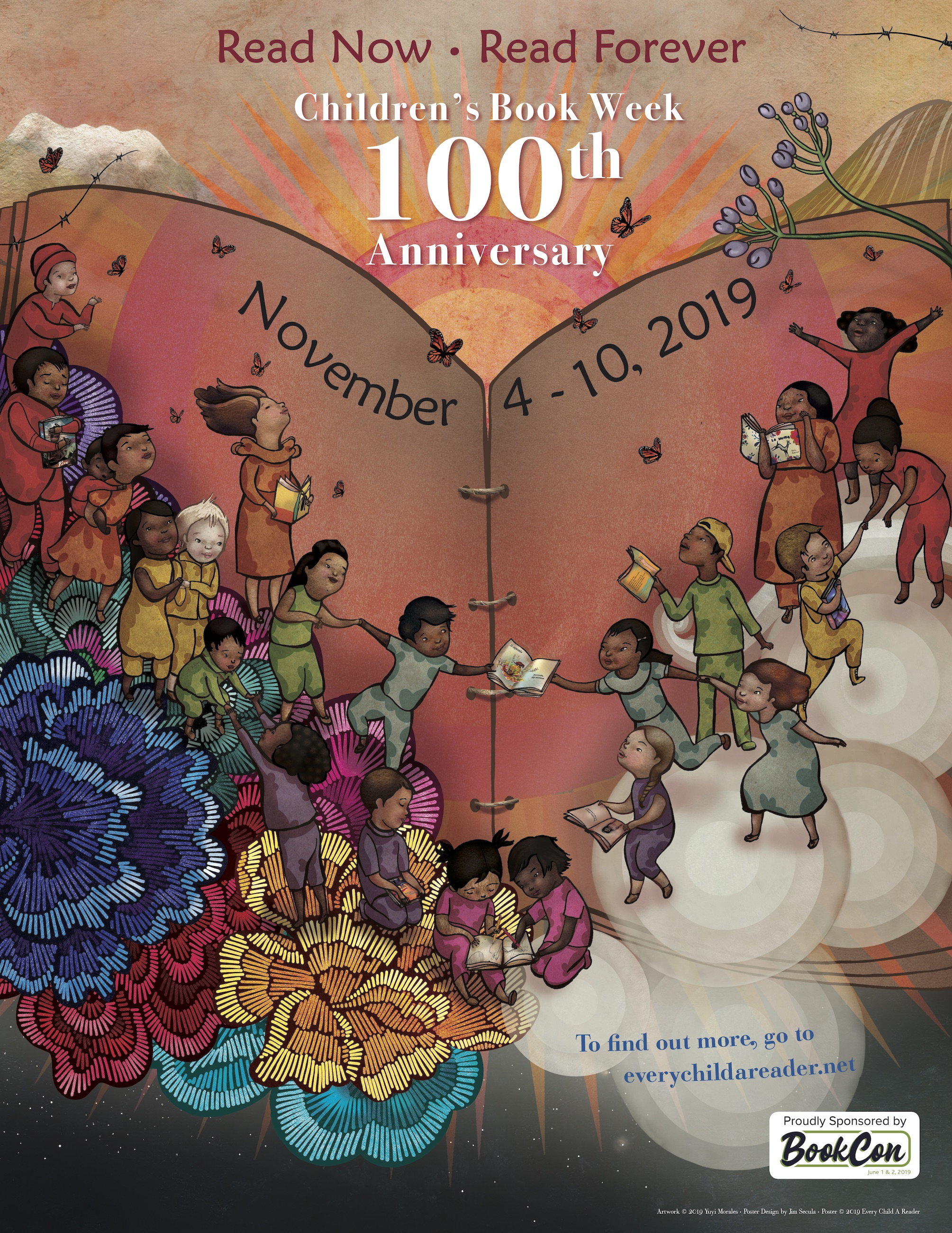CBW 2019 Yuyi Morales poster