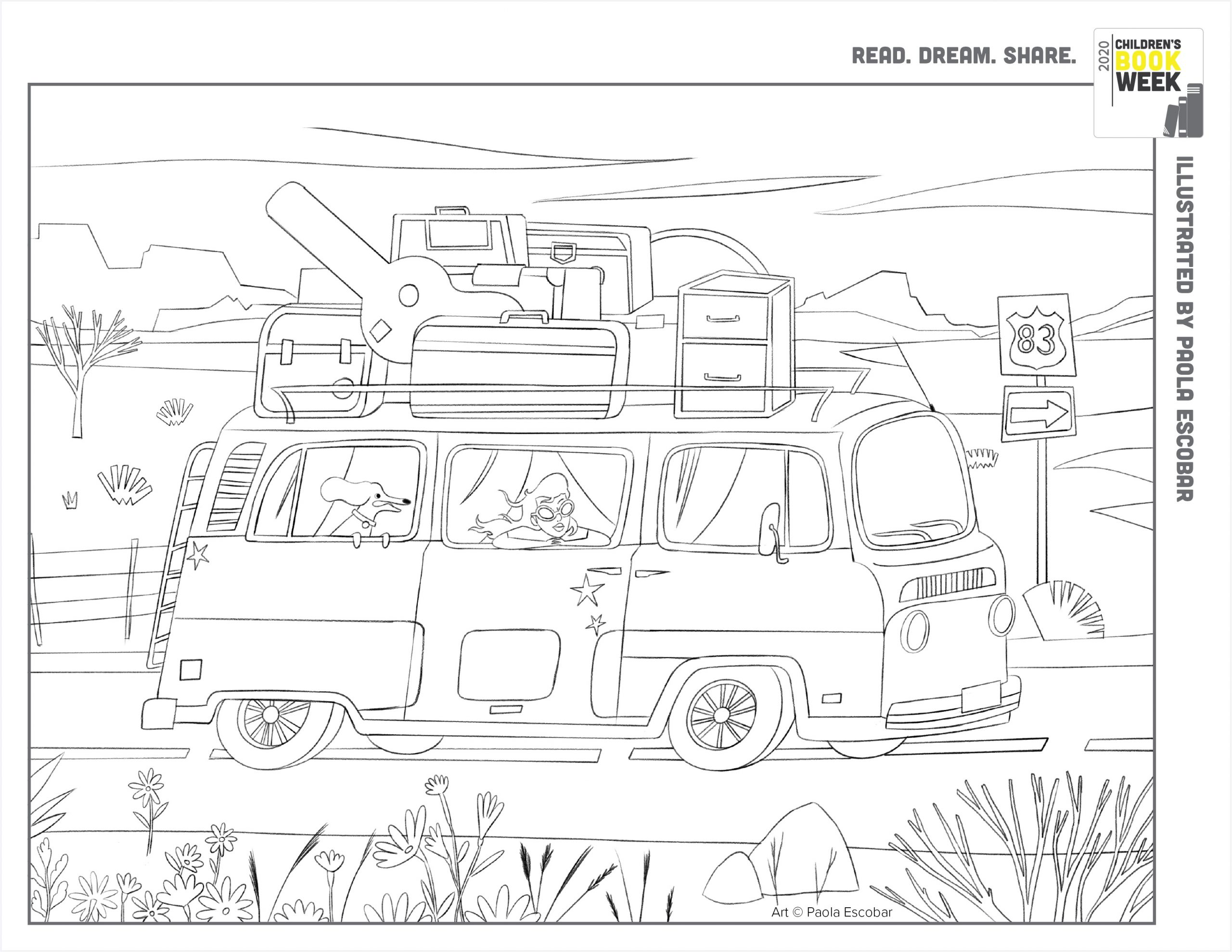 Coloring Book Pages Every Child A Reader
