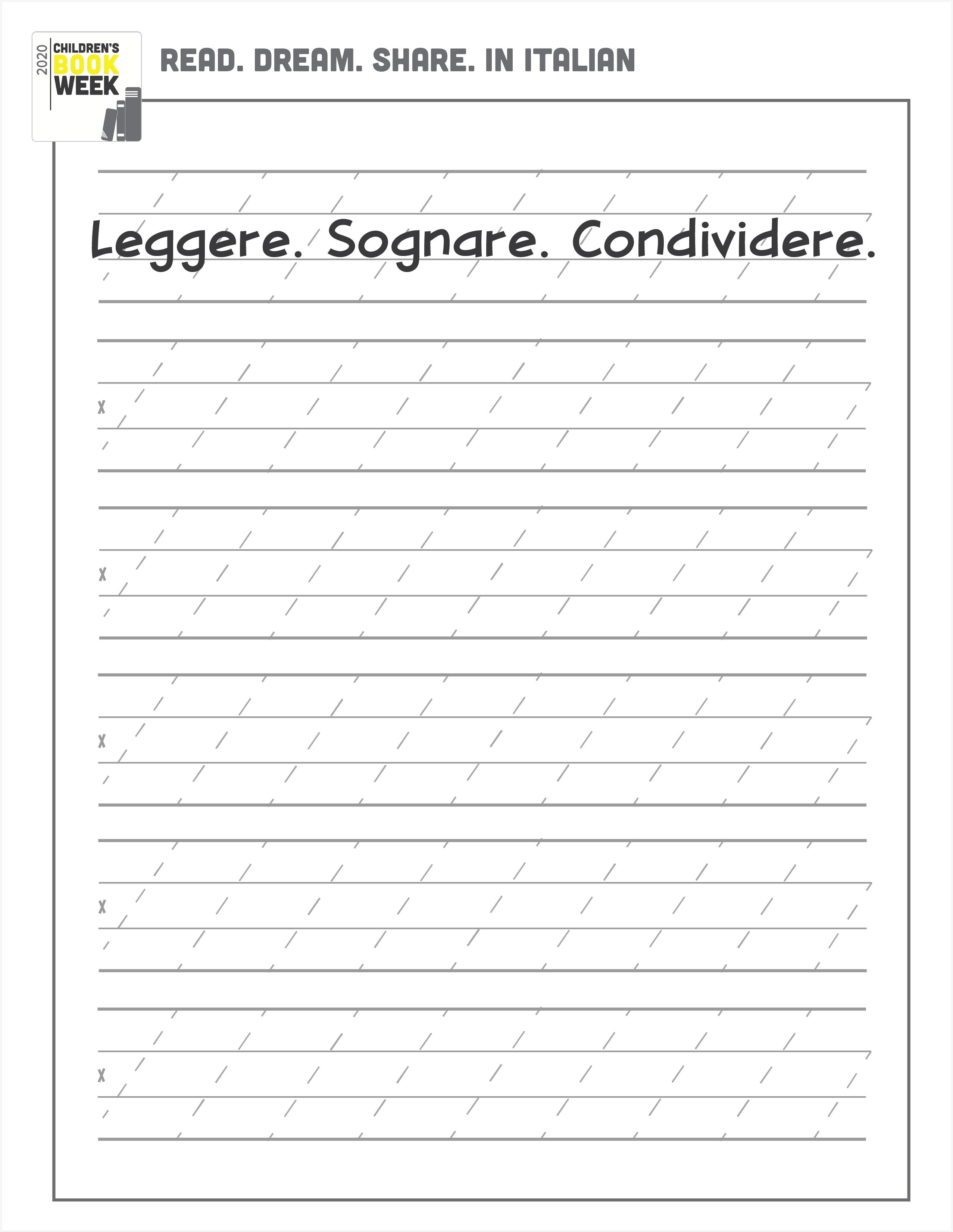 Italian Page
