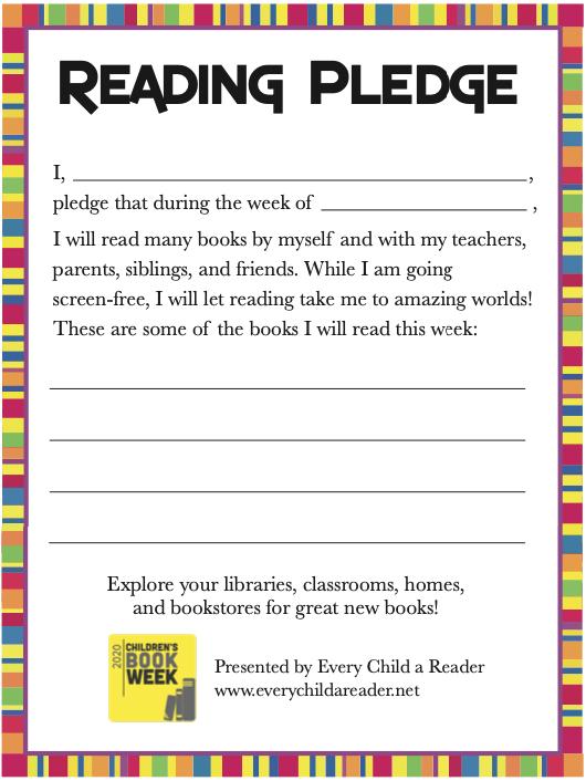 Reading Pledge