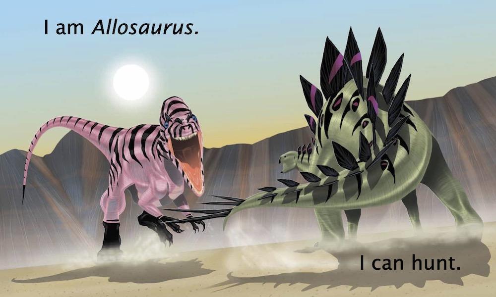I Am Allosaurus Cover62