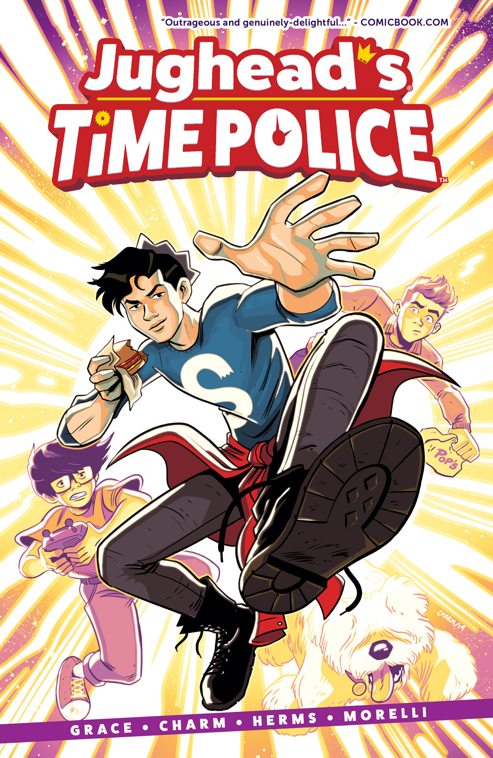 Jughead's Time Police Cover55