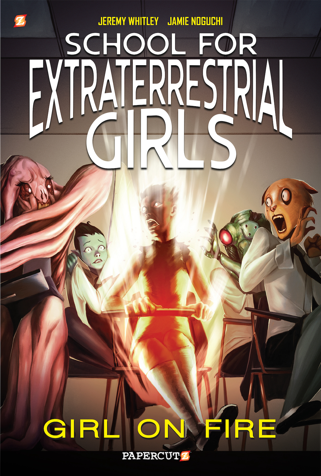 School For Extraterrestrial Girls Volume 1 Cover82